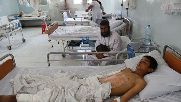 Phòng bệnh trong bệnh viện ở thành phố Kunduz - Afghanistan - Sputnik Việt Nam
