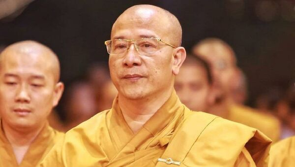 Đại đức Thích Trúc Thái Minh - Trụ trì chùa Ba Vàng - Sputnik Việt Nam