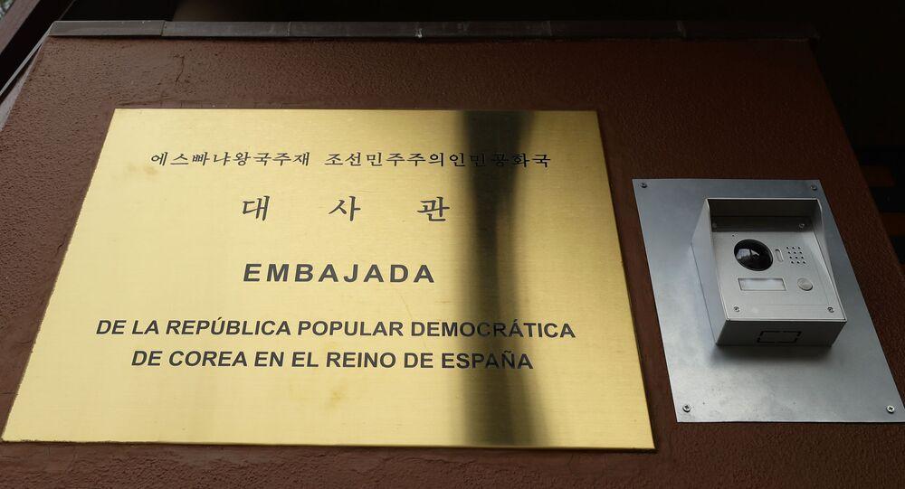 đại sứ quán Bắc Triều Tiên ở Madrid