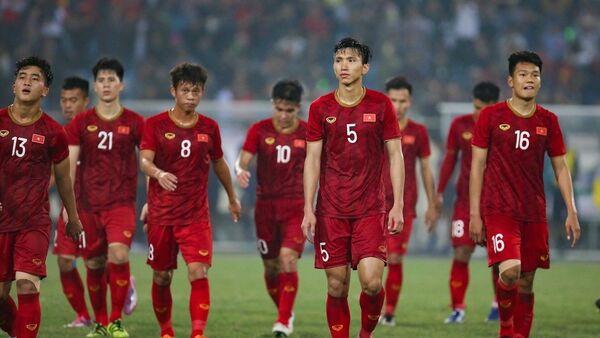 Các học trò HLV Park Hang Seo đã chơi rất tốt và chiến thắng xứng đáng.  - Sputnik Việt Nam