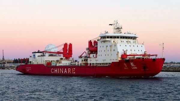 tạo tàu phá băng Trung Quốc - Sputnik Việt Nam