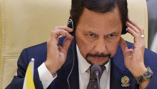 Sultão do Brunei, Hassanal Bolkiah - Sputnik Việt Nam