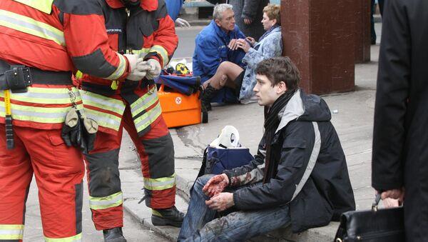 Bắt giữ thành viên băng đảng liên quan đến vụ đánh bom tàu điện ngầm Moskva năm 2010 - Sputnik Việt Nam