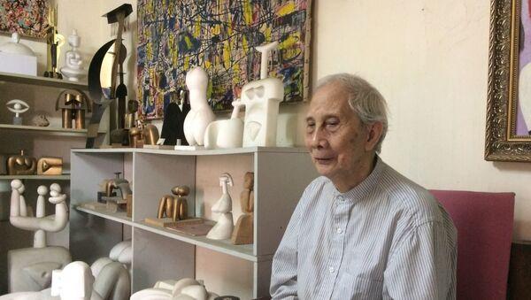 Nhà điêu khắc Lê Công Thành - Sputnik Việt Nam