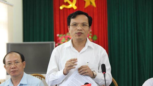 Ông Mai Văn Trinh, Cục trưởng Cục Quản lý chất lượng, Bộ Giáo dục và Đào tạo - Sputnik Việt Nam