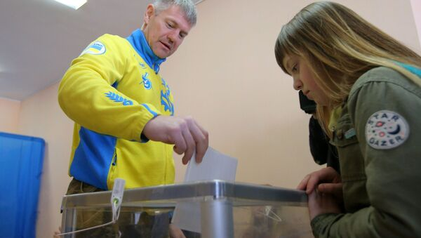 cuộc bầu cử ở Ukraina - Sputnik Việt Nam