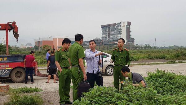 Công an khám nghiệm hiện trường vụ án ở Ninh Bình - Sputnik Việt Nam