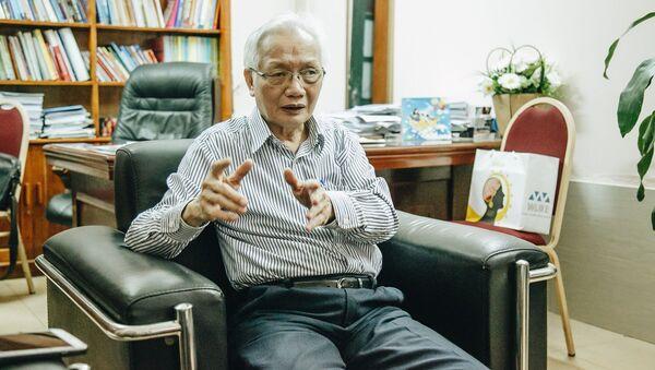 TS Nguyễn Tùng Lâm - Chủ tịch Hội tâm lý Giáo dục Hà Nội  - Sputnik Việt Nam