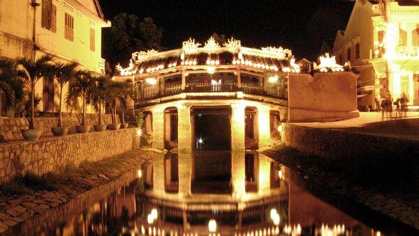 Cầu Nhật Bản có mái che ở Hội An, Việt Nam - Sputnik Việt Nam