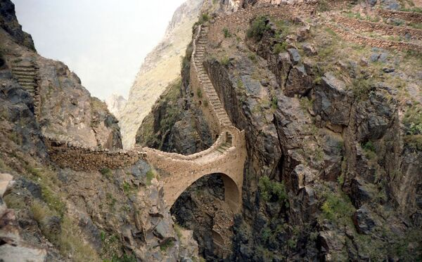 Cầu Shaharah ở Yemen - Sputnik Việt Nam