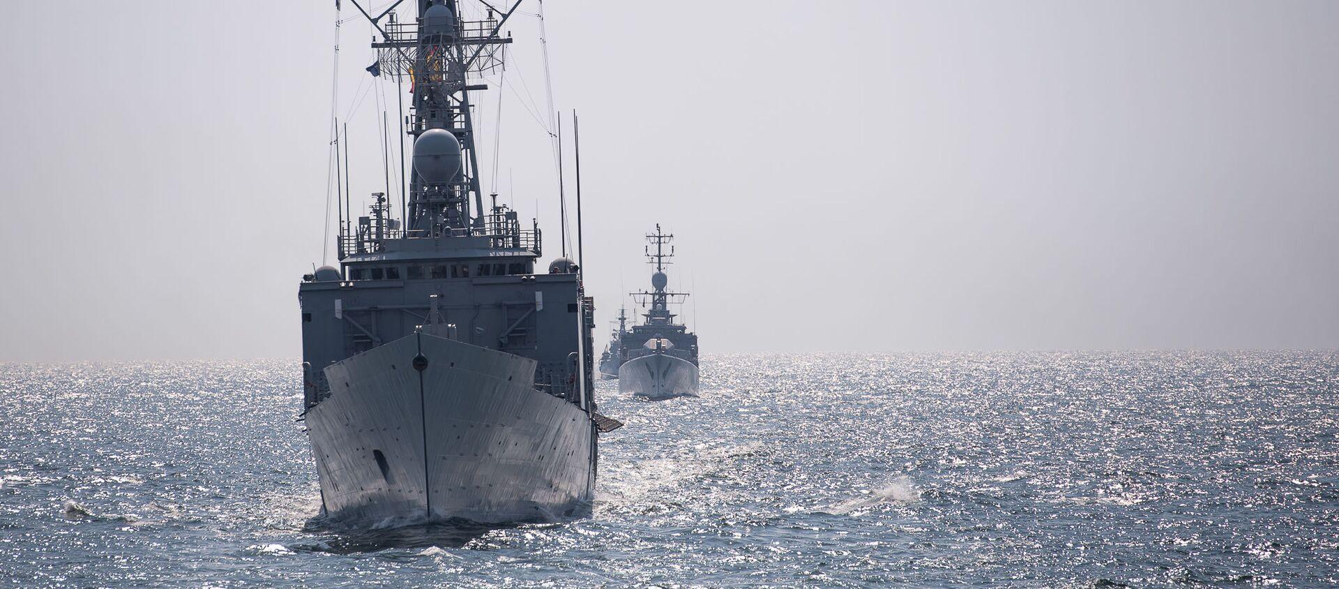 Tàu NATO tiến vào Biển Đen - Sputnik Việt Nam, 1920, 17.03.2021