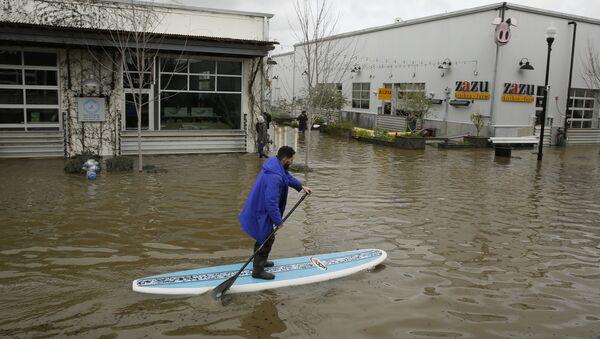 Lũ lụt ở California, Hoa Kỳ - Sputnik Việt Nam