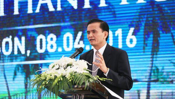 Ông Ngô Văn Tuấn, Phó chủ tịch UBND tỉnh Thanh Hóa - Sputnik Việt Nam