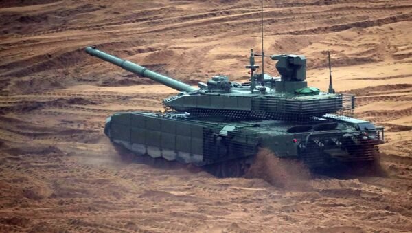 Xe tăng T-90MS  - Sputnik Việt Nam