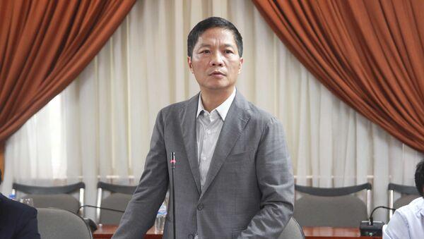 Bộ trưởng Bộ Công Thương Trần Tuấn Anh - Sputnik Việt Nam