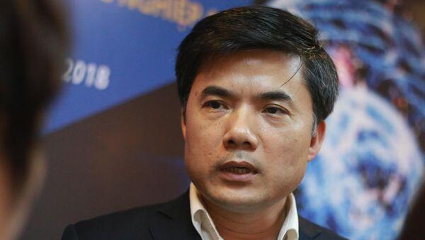 Ông Bùi Văn Linh, Phó Vụ trưởng phụ trách Vụ Giáo dục Chính trị và Công tác học sinh, sinh viên (Bộ GD-ĐT). - Sputnik Việt Nam
