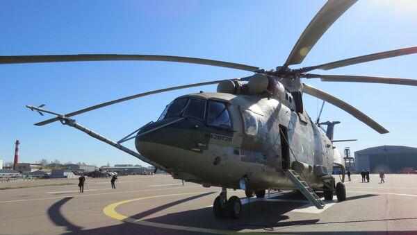 Máy bay trực thăng vận tải quân sự Mi-26T2V - Sputnik Việt Nam
