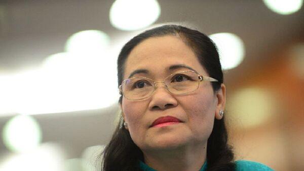 Bà Nguyễn Thị Lệ, Trưởng ban tổ chức Thành ủy TP.HCM - Sputnik Việt Nam