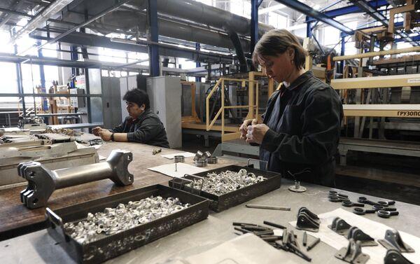 Xưởng mạ của nhà máy Rostvertol - Sputnik Việt Nam