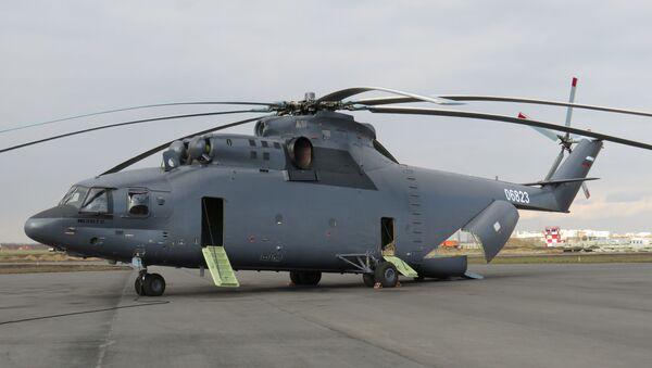 Máy bay trực thăng vận tải dân dụng MI-26T2 phiên bản xuất khẩu - Sputnik Việt Nam