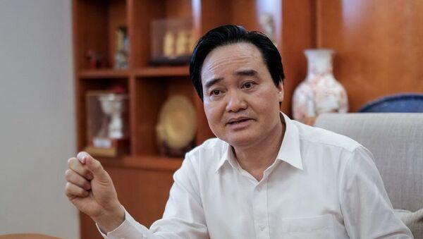 Bộ trưởng Bộ GD-ĐT Phùng Xuân Nhạ  - Sputnik Việt Nam