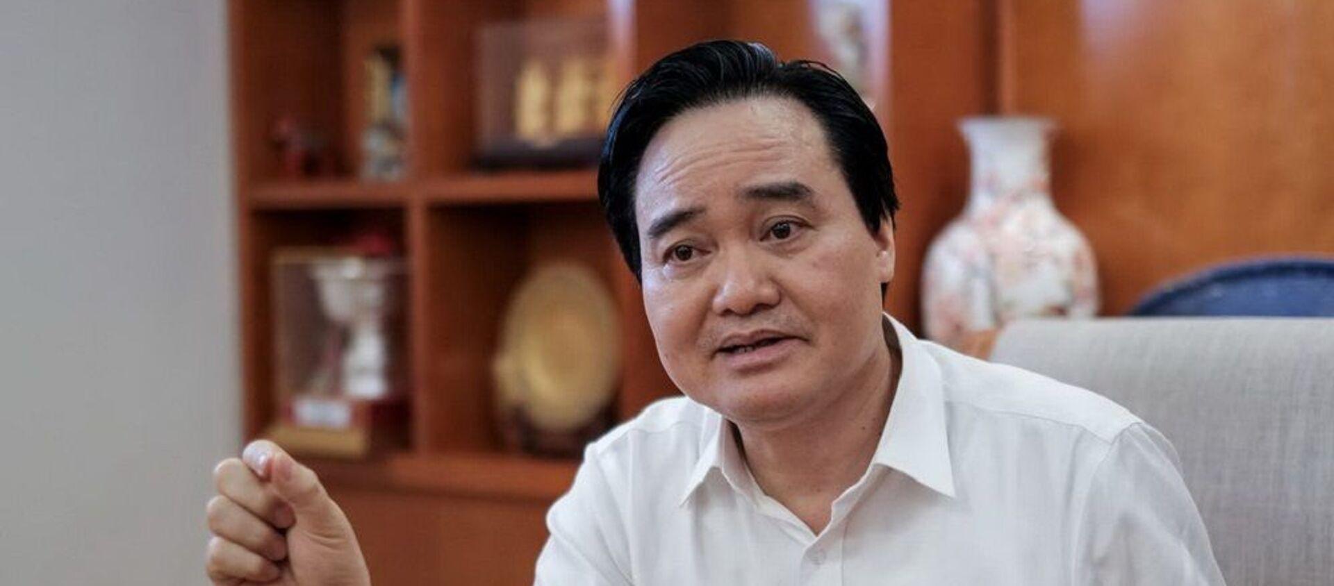 Bộ trưởng Bộ GD-ĐT Phùng Xuân Nhạ  - Sputnik Việt Nam, 1920, 25.06.2019
