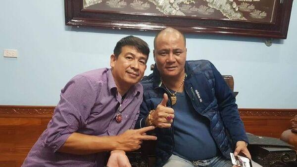 Trần Đình Sang (trái) - Sputnik Việt Nam