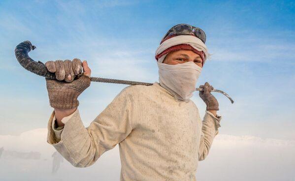 Bức ảnh The White Mountain (Núi trắng) của nhiếp ảnh gia Anas Kamal, giải nhất trong hạng mục Visible Light của cuộc thi ảnh Life in Another Light - Sputnik Việt Nam