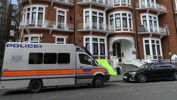 đại sứ quán Ecuador ở London - Sputnik Việt Nam