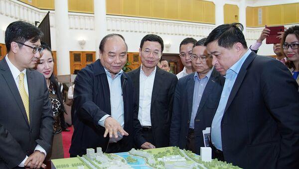 Thủ tướng đốc thúc triển khai Trung tâm Đổi mới sáng tạo quốc gia - Sputnik Việt Nam