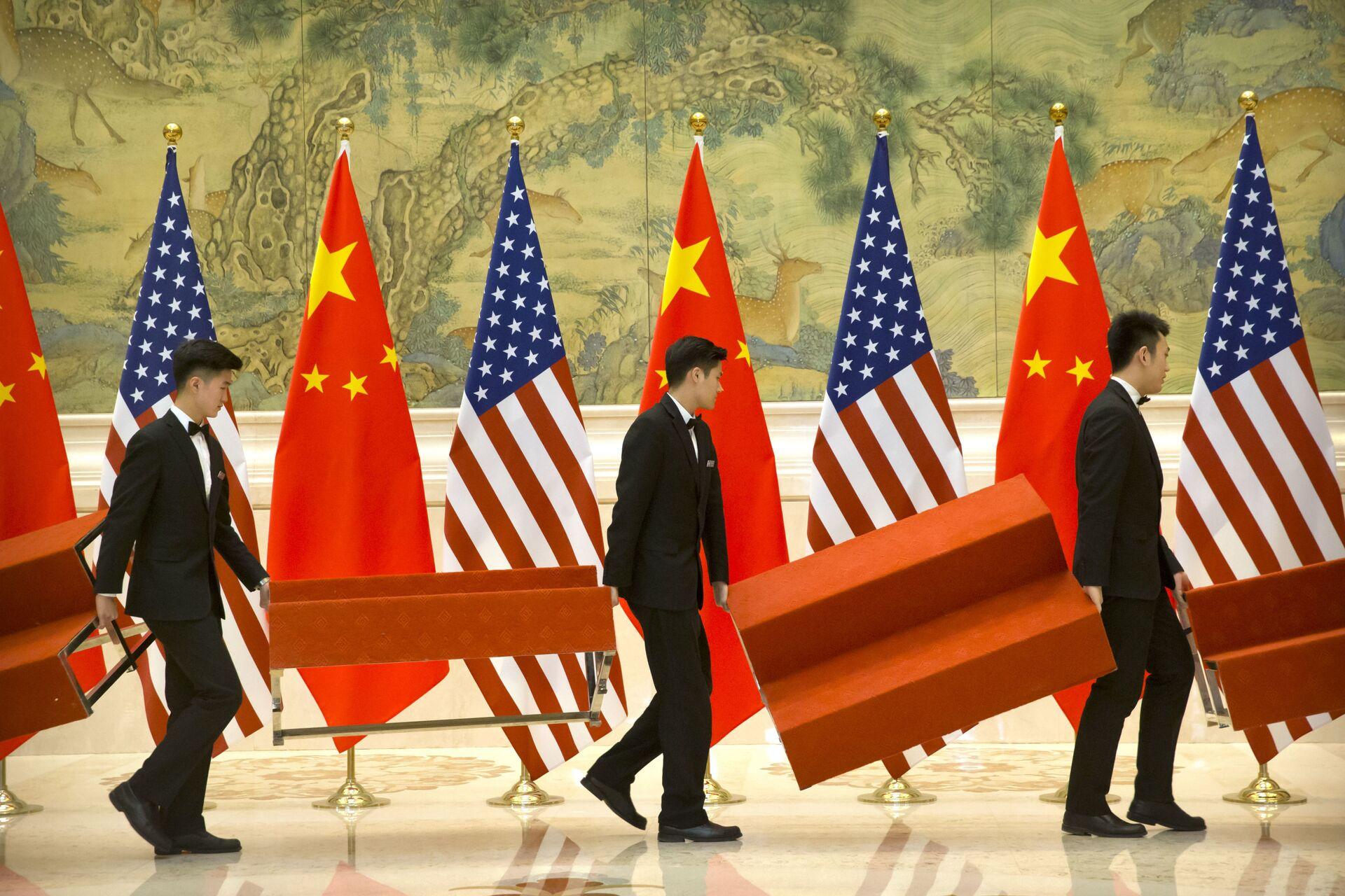 Mỹ và phương Tây quyết kiềm chế Trung Quốc ở Biển Đông - Sputnik Việt Nam, 1920, 29.07.2021