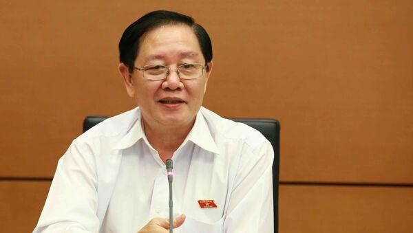Bộ trưởng Nội vụ Lê Vĩnh Tân - Sputnik Việt Nam