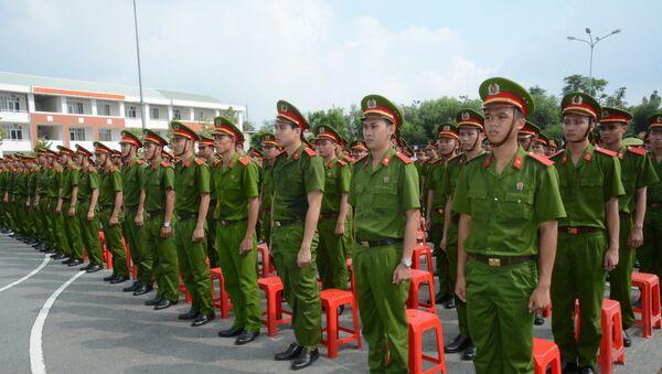 Trường Cao đẳng Cảnh sát nhân dân II (CSND II) tại TP.HCM - Sputnik Việt Nam
