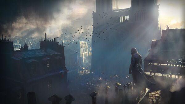 Nhà thờ Đức Bà trong trò chơi máy tính Assassin's Creed: Unity - Sputnik Việt Nam