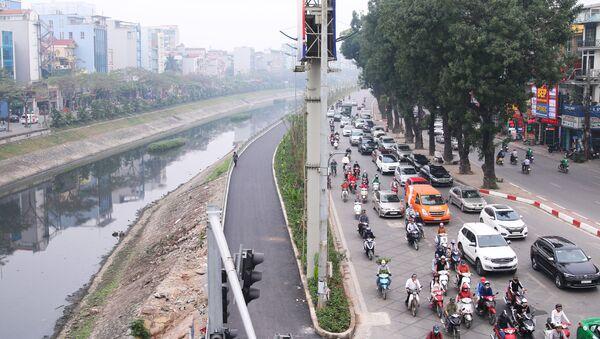 Sông Tô lịch, đường phố Hà Nội - Sputnik Việt Nam