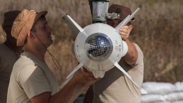 Nhóm hàng không quân sự Nga tại sân bay Hmeymim tại Syria - Sputnik Việt Nam