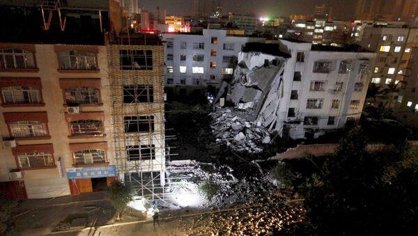 Vụ nổ tại Trung Quốc - Sputnik Việt Nam