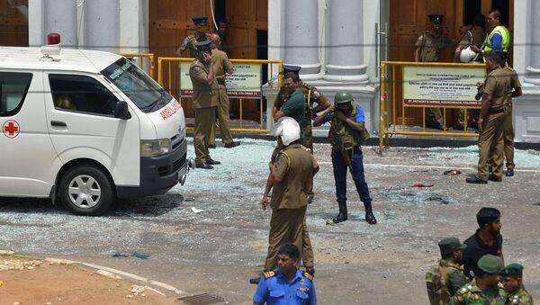 Nổ bom ở Sri Lanka - Sputnik Việt Nam