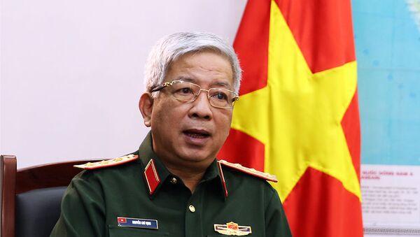 Thứ trưởng Bộ Quốc phòng Nguyễn Chí Vịnh - Sputnik Việt Nam
