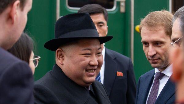 Nhà lãnh đạo Triều Tiên Kim Jong-un đã đến Nga - Sputnik Việt Nam