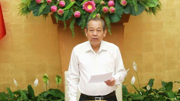 Phó Thủ tướng Trương Hòa Bình chủ trì Hội nghị toàn quốc về bảo đảm TTATGT - Sputnik Việt Nam
