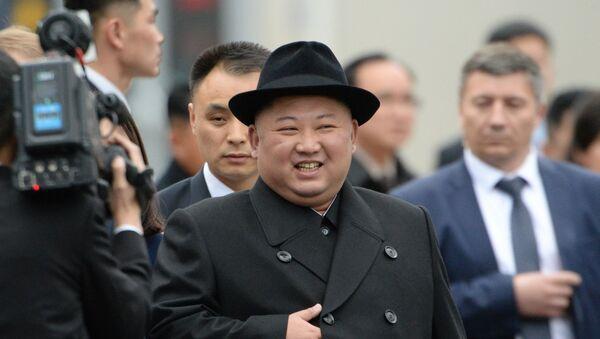 Nhà lãnh đạo CHDCND Triều Tiên Kim Jong-un đã đến Nga  - Sputnik Việt Nam