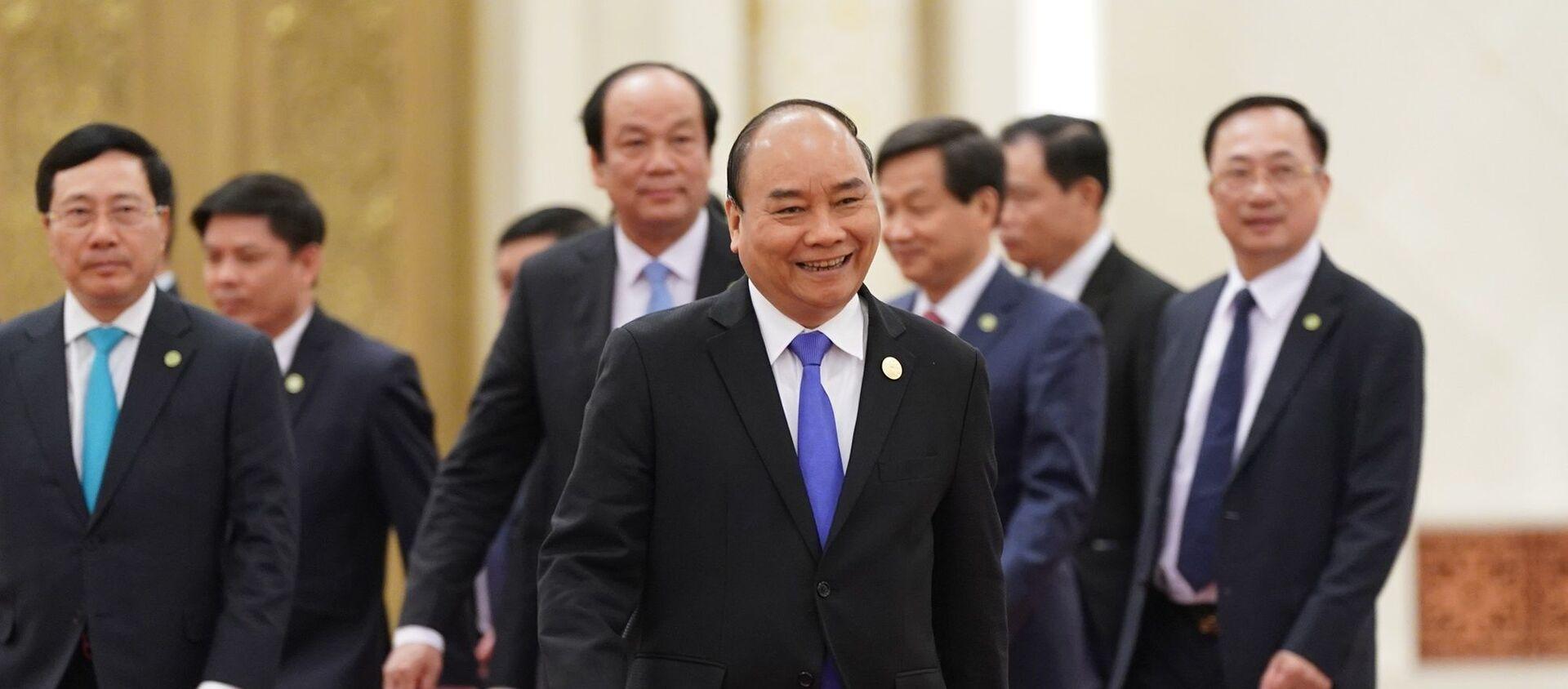 Thủ tướng Nguyễn Xuân Phúc hội kiến Tổng Bí thư, Chủ tịch nước Trung Quốc Tập Cận Bình - Sputnik Việt Nam, 1920, 26.04.2019
