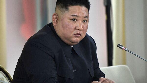 Nhà lãnh đạo Triều Tiên Kim Jong-un. - Sputnik Việt Nam