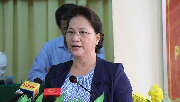Chủ tịch QH Nguyễn Thị Kim Ngân  - Sputnik Việt Nam
