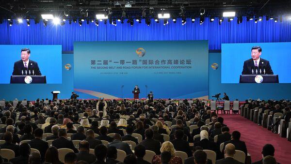 Khai mạc Diễn đàn cấp cao Hợp tác quốc tế Vành đai và Con đường lần thứ hai - Sputnik Việt Nam
