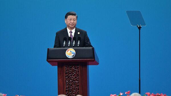 Chủ tịch Trung Quốc Tập Cận Bình phát biểu khai mạc Diễn đàn cấp cao Hợp tác quốc tế Vành đai và Con đường lần thứ hai - Sputnik Việt Nam
