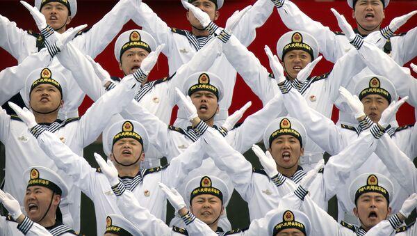 Lễ kỷ niệm 70 năm thành lập lực lượng Hải quân của Quân đội Giải phóng Nhân dân Trung Quốc - Sputnik Việt Nam