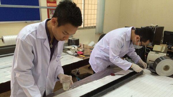 Phạm Gia Vinh và cộng sự thiết kế phi thuyền - Sputnik Việt Nam