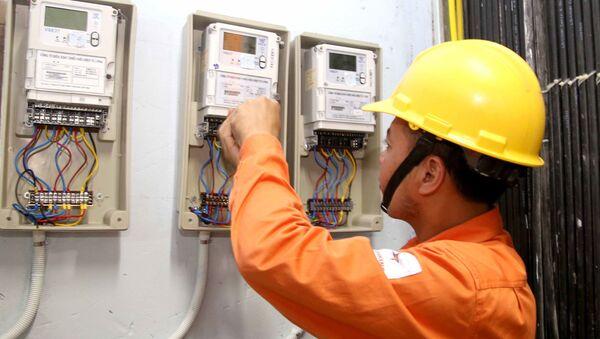 Công nhân điện lực  - Sputnik Việt Nam